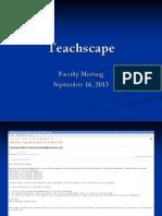 teachscape presentation 9-16-13