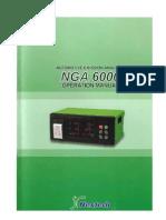 Manual Del NGA6000(Analizador de Gases)