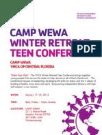 Program Flyer-Winter Retreat