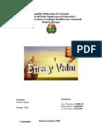 2 Corte Trabajo de Etica y Valor.