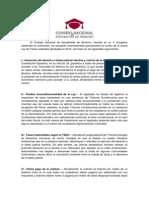 Conclusiones Tasas Judiciales v Congreso Nacional de Derecho