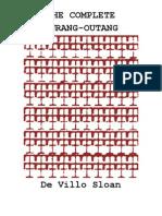 The Complete Ourang-Outang by De Villo Sloan