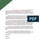 Ejemplo Carta Argumentativa Examen