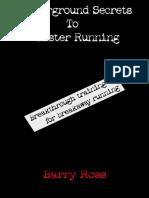 (Ross) Underground Secrets to Faster Running