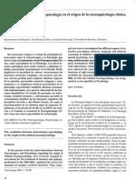 La simbiosis neurocirugía -psicología en el origen de la neuropsicología clínica