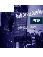 How to Get Great Guitar Tone eBook
