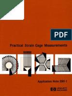 HP - Parctical Strain Gauge Measurements