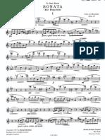 39760716 La Montaine Sonata for Flute Solo Op 24