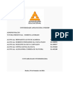 atps Contabilidade intermediaria