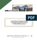 Las Relaciones Entre Hispania y El Norte de Africa Durante El Gobierno Barquida y La Conquista Ro