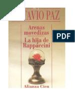 Paz, Octavio - Arenas Movedizas y La Hija de Rappaccini