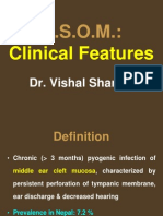 CSOM of Middle ear part 1
