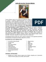 Biografía del escritor Carmen Matute