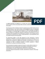 La Fabrica Nacional de Cemento s