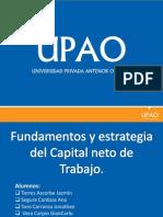 Fundamentos y Estrategias Para El Capital Neto de Trabajo