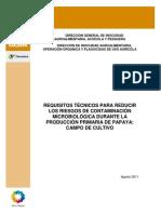 ANEXO 5. Requisitos Tecnicos Campo