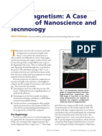 Nanomagnetism a Case History of Nanoscience and Technology