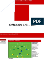 Last 1/3 offensive strategy Soccer