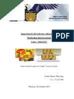 Importancia cultural en el marketing Internacional