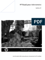 HP Blade System Administration Student Guide Part 1ofm2 He646s a.01