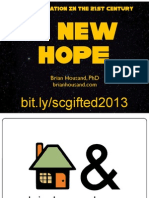 A NEW HOPE - Gifted Education in the 21st Century