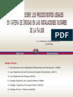 Exposicion_pro. Drogas en La Justicia Militar