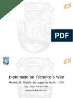 Diplomado Tecnologia Web - Modulo 2 CSS