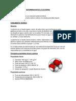 Determinacion de La Glicerina