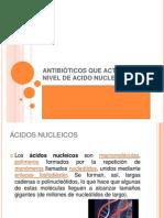 ANTB. ACIDOS NUCLEICOS
