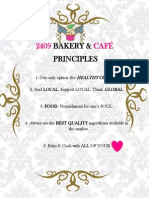 Bakery&Cafe Principles