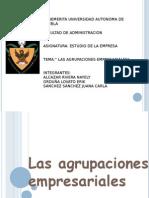 LaS Agrupaciones Empresariales[1]