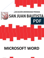 Clase 03 Microsoft Word