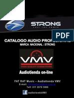 Catalogo Strong- Audiotienda VMV