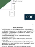 Piping Isometrics