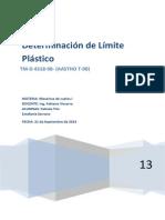 Determinación de Límite Plástico (1)