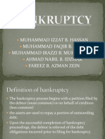 Bankruptcy among malaysian