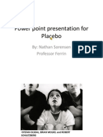 power point presentation for placebo