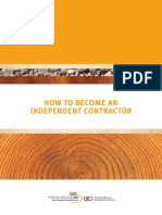 How to Become an Independent Contractor