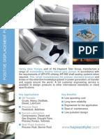 API 676 Pump Rotary Datasheet