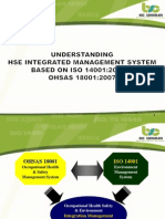 Interpretation of OHSAS 18001 & ISO 14001 Integration-CAKRA