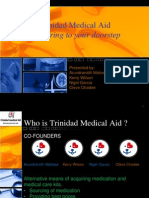 Trinidad Medical Aid Mid Term Presentation