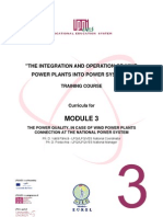 """the Integration and Operation of Wind Power Plants Into Power"