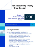 Financial Accounting Theory Craig Deegan Chapter 7
