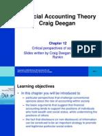Financial Accounting Theory Craig Deegan Chapter 12