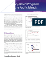 Policy-Based Programs for the Pacific Islands