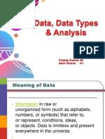 Original Data Type