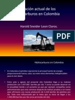 Situacion de Los Hidrocarburos en Colombia