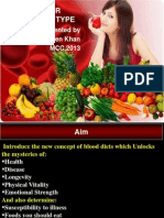 Blood Diet