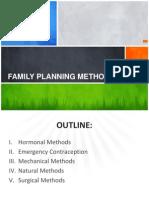 Family Planning Methods