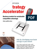 The Strategy accelerator - new business models based on competitive advantage